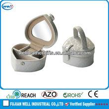 Heart shape wholesale trinket case