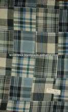 european madras cotton patchwork fabric