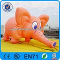 Personalizado elefante inflable modelo/elefante inflable del globo de la publicidad