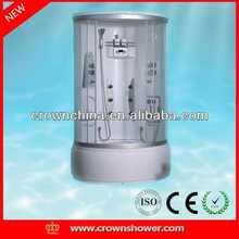 tempered glass bathroom shower enclosure,shower cabin,shower room High quality brushed nickel toilet brush holder