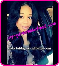 Stock Brazilian human hair full lace wig/glueless wholesale china alibaba express