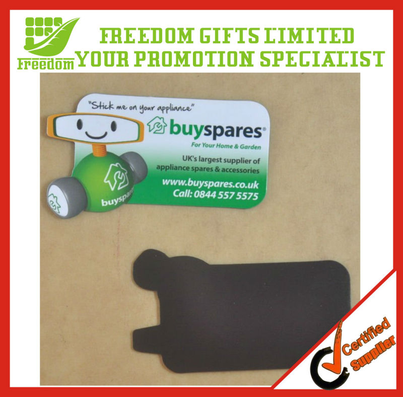 Promotional Top Quality Logo Printed Paper Fridge Magnet
