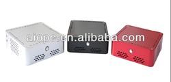 horizontal fanless mini itx case/thin itx system