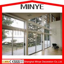 wall sliding door/sliding glass doors/tempered sliding glass door