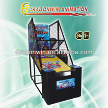 2013 hotest DARDONWIN animation simulator coin operated crazy shoot street electronic basketball scoring machine for sale