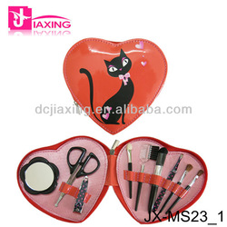 Make up accessory with manicure sets for women