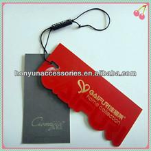 Factory directly cheap clothing hang tag design/ clothing hang tag/paper hang tag