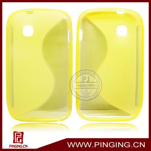 2014 fashion cheap mobile phone case for ZTE V793, soft TPU s line case