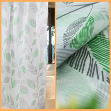 waterproof hookless litchfield fabric shower curtain for bathroom