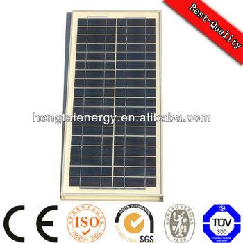 30w polycrystalline solar panel
