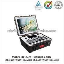 Hard Case Plastic Waterproof Dustproof Shockproof Case with mouting stud