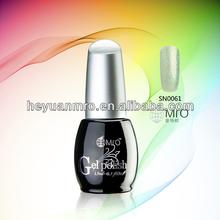 Rainbow Nail Art Glitter Gel Polish