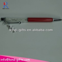 paper promotion rhinestone crystal ballpoint pen