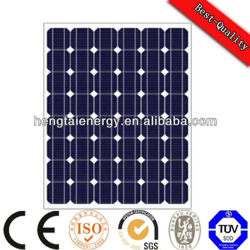 100w hot saled solar panel