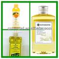 amêndoa doce e óleo de massagem