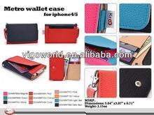 leather wallet case for archos titanium 50