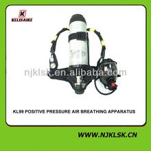 Équipement de lutte contre l'incendie appareil respiratoire de l'air