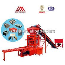 Bata Konkrit Kecil / Blok Mesin Hollow saling Blok Mesin QTJ4-26 China Pembuatan