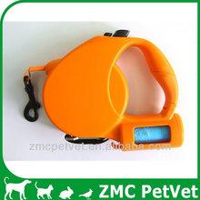 Retractable leash (with waste bag)