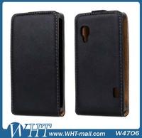 2014 Hot Sale Flip Leather Case For Lg Optimus L5 II E450 E460 Wholesale Supplier