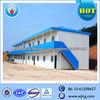 Modular steel frame prefab house with double floor