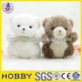 lindo blanco masha difuso y el oso de juguete
