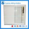 modern style burglarproof aluminum jalousie window BW1046