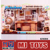 hottest plastic toy kitchen set make in china for sale