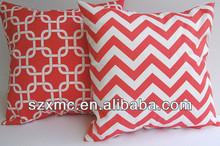 Wholesale cheap factory custom plain canvas pillow covers