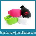 silicone Attractive Digital touch screen hand super thin led watch