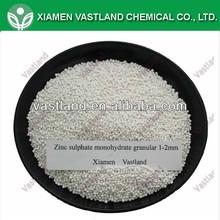 Zinc sulphate fertilizer ZnSO4 H2O