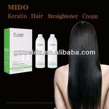 China MIDO 2014 Profesional Salon Product For Keratin Hair Treament & Hair Straightener Cream & magic hair straightening cream