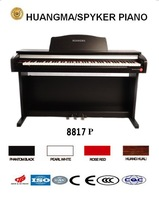 HUANGMA HD-8817P upright digital piano for jack midi
