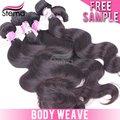 أسلوب جميل للنساء 100% موجة الجسم البرازيلي الشعر الخام غير المصنعة