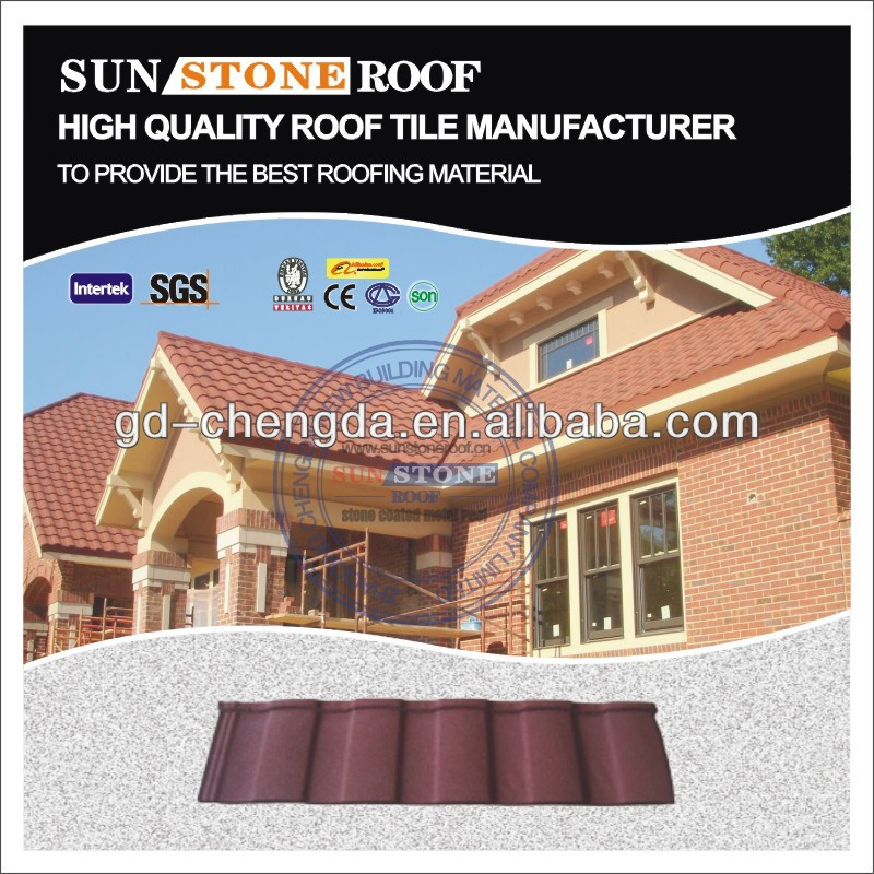 Material colored stone coated roofing shingles prices