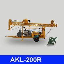 Good quality & appreciative, AKL-200R deep rock well drilling equipment