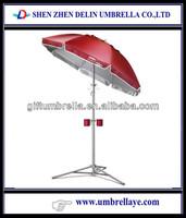 All beach umbrella portable solar cooker