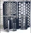 perforated metal screen door