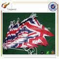 Tw3073 Eco friendly promoção impresso PE / papel / não tecido / tecido personalizado triângulo bandeiras galhardete