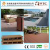 Outdoor Environmental Wood Plastic Composite Decking prefab decks