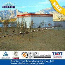 F-series Flat Roof Tent For Big Event Maximum120km/h Wind loading