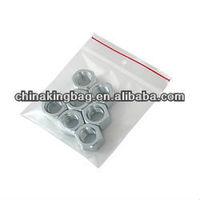 mini size LDPE ziplock bag clear zipper bag