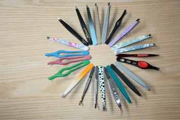 Many kinds of tweezers,smart tweezers,flat tweezers