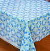 spot vinyl coated tablecloths