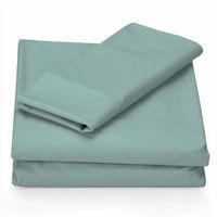 Cheap polycotton solid color or white plain hospital linen