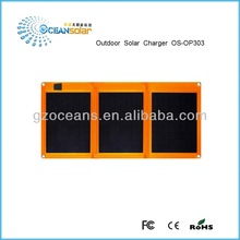 Outdoor solar charger foldable solar panel OS-OP303 30W high efficient for laptop table PC computer charge