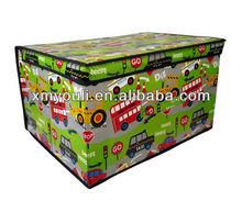 Country Club Child's Boy's Road Works Jumbo Storage Box 50 x 30 x 40 cm