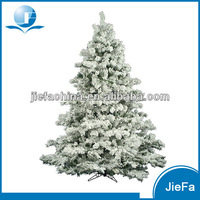 6ft 7ft 8ft 9ft 10ft Flocked Christmas Tree White Color with CE