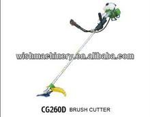Garden machine 2-stroke gasoline brush cutter/grass trimmer25.4CC Brush cutter CG260D with EPA CE