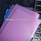 transparent PP Corrugated Plastic Sheet for packing